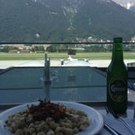 Have lunch on the airport balcony. Fantastic view.