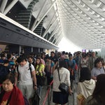 Crowded with Mainland Chinese.