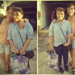With my tita! :)