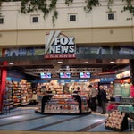 There's literally a Fox News store here. Enter at your own risk.