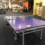 Play ping-pong outside of security!
