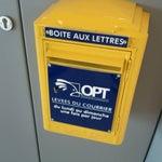 L'OPT est bien là pour l'expédition des cartes postales de dernière minute. Une levée par jour du lundi au dimanche.