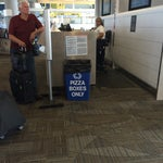 Fll is real specific about recycling. Bonus points if you can find a pizza place in terminal to dispose of said pizza box?