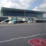 Aeropuerto como de pin y pon