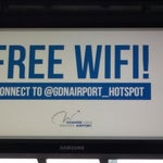 "With ""@GDNAirport_hotspot"" there finally is a working free WiFi ☺"