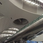 Impressive airport. Wifi accessible. Commendable attendants. Lounges are quite separated so you have to go look for them tediously. Beautiful and well maintained.