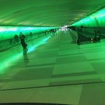 I love this airport. Cool architecture. Great places to eat and people watch. Love the lighted tunnels too