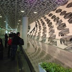 The new airport looks terrific. Like a spaceport.