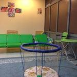 В отличие от многих аэропортов есть детская комната. / A special kids room available inside the airport. #karaganda #караганда #аэропорт #kgf