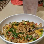 Try the Mango Vegetarian Stir Fry at the Silver Diner. MMM! :)