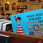 Be on the lookout for Waldo! ☝✈ 