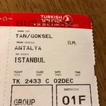 Really professional security staff and Turkish airlines ground employees. Also thank you very much for the free upgrade. 😂