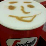 Ine latte b4 takeoff....smiley it is...smiley shall ever be...