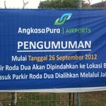 Start from 26.09.12, parking area for motorcycle have been relocated