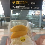 This airport is way MUCH MORE better than Duang Muang Airport!You can buy the famous Mango Sticky Rice here,so fresh & sweet as they made it in the morning and sold out by the end of the day