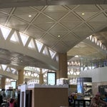 The terminal building is gorgeous.  The space and finishes are beautiful even though the airport was built several years ago.  Staff was courteous.  Wish they had free wifi.