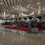 Have you ever seen something like that!? No people in airport at night!!!!! I understand... Night! But NOOOOO PEOPLE!!! No staff, no customers!!!! 😱 so quiet