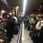 Taxi queues are very common in the evening, better speed up after reaching arrival hall;)