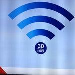 Отличный бесплатный Wi-Fi, быстрый, но гад всего 30-минутный