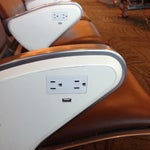 Pro tip: The terminal chairs all have USB charging ports and outlets!