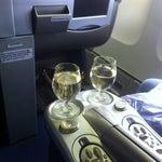 On board! Almost missed the flight! #girltalk