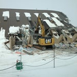 Tearing down the old terminal.  New one is operational - and nice!