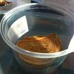 Biscoito de bolo de rolo na casa do frips e otimo