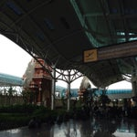 The newly built airport seems to be the best air hub in Indonesia right now.