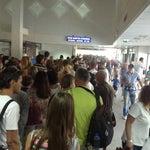 То ли чартер виноват, то ли аэропорт такой действительно всегда! Отстоять три очереди, самую длинную на паспортный контроль, awful!
