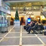 Ужасный досмотр что на вхоже в аэропорт, что на вхоже в зал вылета. Явные проблемы со службой безопасности. Нигде такого нет, даже на международных рейсах. Бред полный. ЭРОкафе спасает ситуацию)