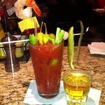 Go to Ike's for great bartenders and a great bloody.