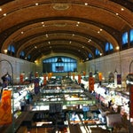 Visiting on a M/W/F/Sat? The West Side Market is a culinary,  cultural & architectural gem. W. 25th & Lorain. 15 min. from airport.