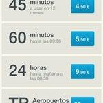 Wifi del aeropuerto 15 min gratis, luego se paga.