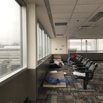 There may be secret nap mattresses in the secret observation deck in Terminal D. Stairs opposite gate D6.