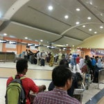 What's the point of a web check-in when you still have to wait at a long queue? No bag drop counter??
