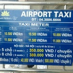 Right end side have bus stand. But normal way to city is taxi. See the fixed price.