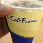 Not so many food options inside. Best choice would be cafe France.