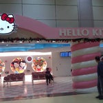 There's a lot of cool things to check out if you have extra time... Such as the hello kitty lounge!