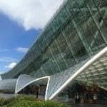 Уютный аэропорт,  с free wi fi , и отсутствием толп пассажиров