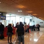 Действительно самый быстрый аэропорт! Народу мало, все проверки и регистрация проходит быстро.Забыл убрать карманный набор инструментов в багаж, так ребята принесли багаж и спасли мой наборчик!