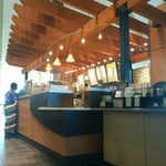 Nice big Starbucks at AB departures. Pick up a 10% discount coupon from your airline - at least US Airways has them.