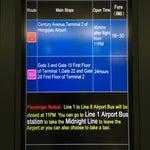 Midnight aitport bus schedule.