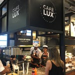 Finally a great coffee place in the departure area. Between gates 23 and 24.