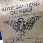 Dê uma passada na loja pra conferir a arte santeira do Piauí. Sempre levo algo pra casa. Obras de arte.