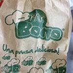 Los pandebonos de Mr Bono recomendados!