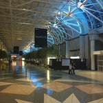 Nice, simple airport with easy departure access/process and some typical food options pass security check.