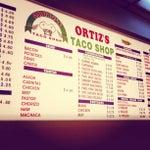 Ortiz's Taco Shop