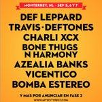 Del 5 al 7 de septiembre #Monterrey City Festival con Deff Leppard,Deftones y muchas bandas más en Parque Acero Fundidora