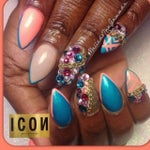 ICON NAILS by: ROBIN