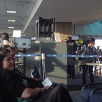 Flying to NYC? Get to your gate early - you have to go through security again at the gate. And remove your shoes and electronic devices.